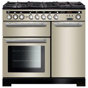 Rangemaster EDL100DFFIV/C Encore Deluxe 100 cm Dual Fuel Range Cooker in Ivory