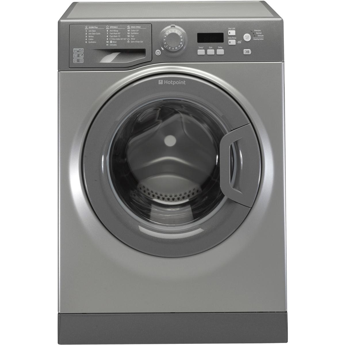 Hotpoint Wmeuf743g 1400 Spin 7kg Washing Machine