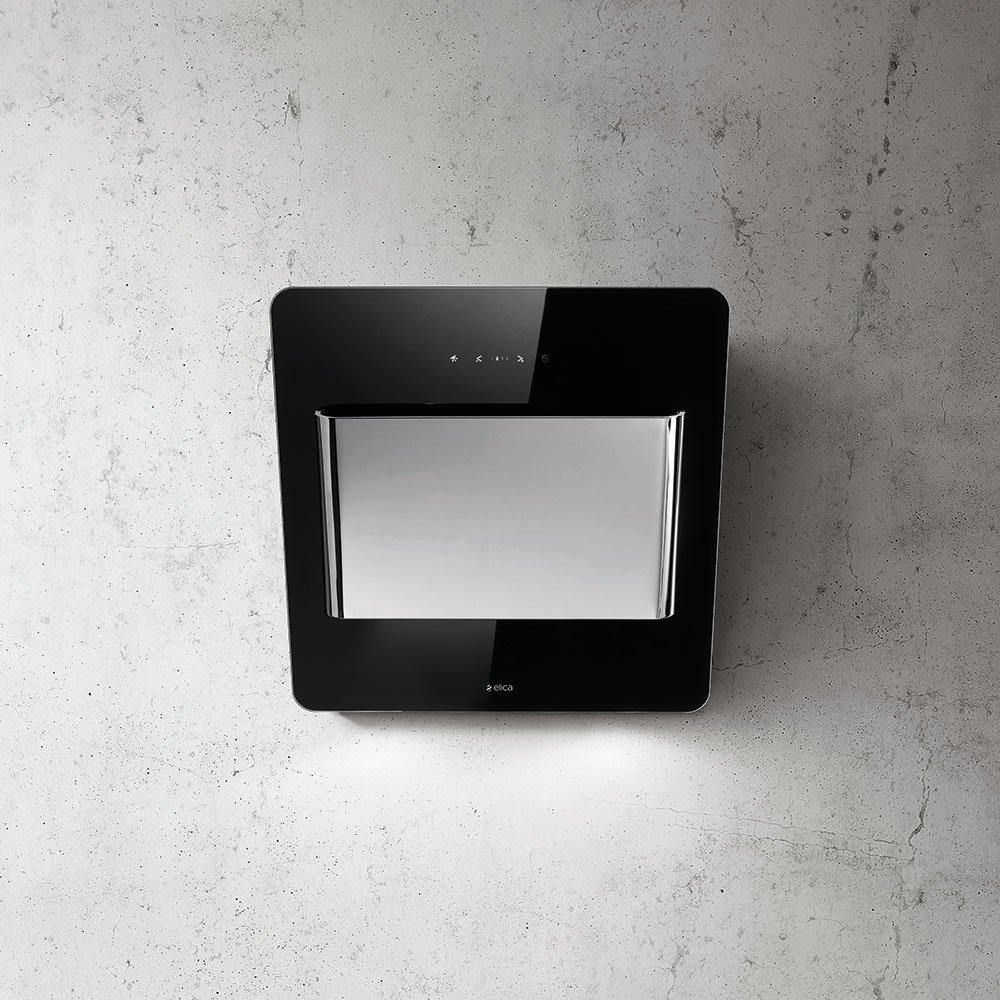 buy elica verve 55 blk vertical hood discount appliance. Black Bedroom Furniture Sets. Home Design Ideas