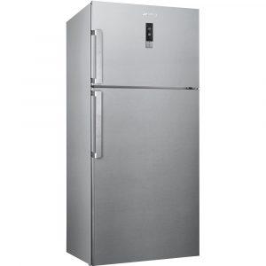 SmegFD54PXNE4NewFridge-Freezer, Finger Friendly Stainless Steel