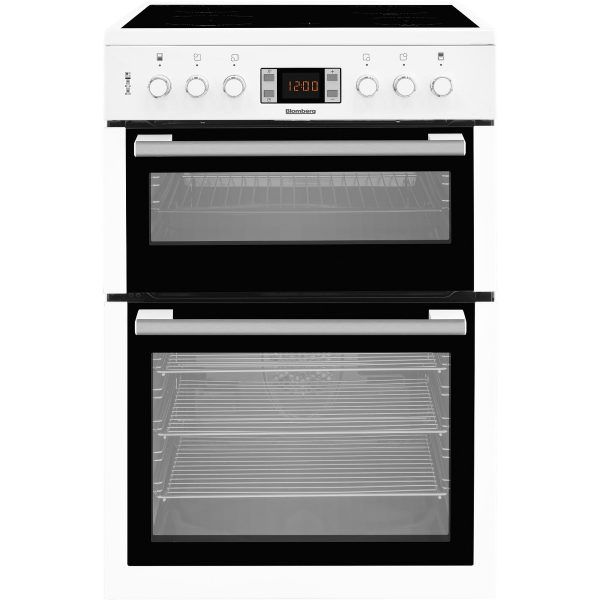 Blomberg HKN63W 60cm Double Oven Electric Cooker