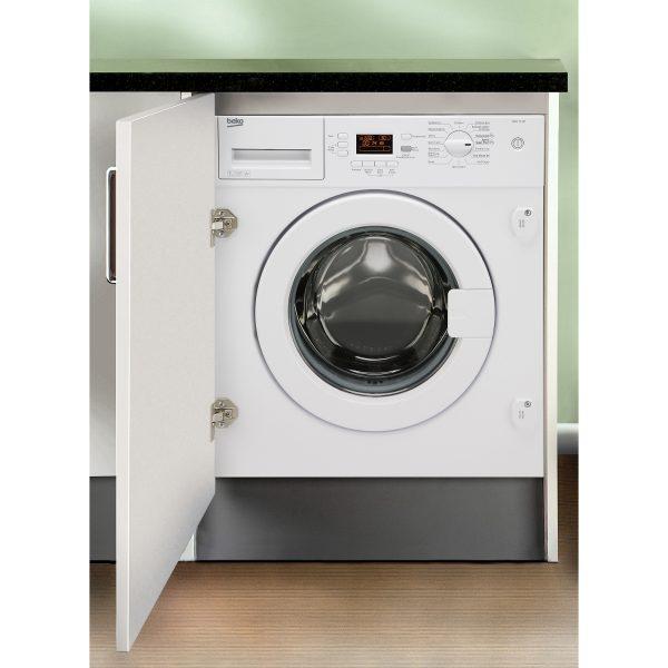 Beko WMI71441 Integrated 7kg Washing Machine
