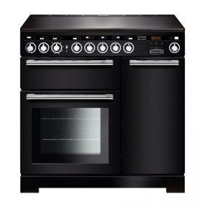 Rangemaster EDL90EIBL/C Encore Deluxe 90cm Induction Range Cooker In Black