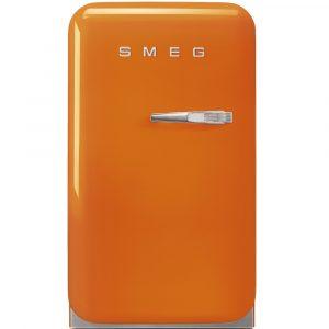 Smeg FAB5LOR 50s Style Line, Free-Standing fridge Mini Bar 50s Style, Orange