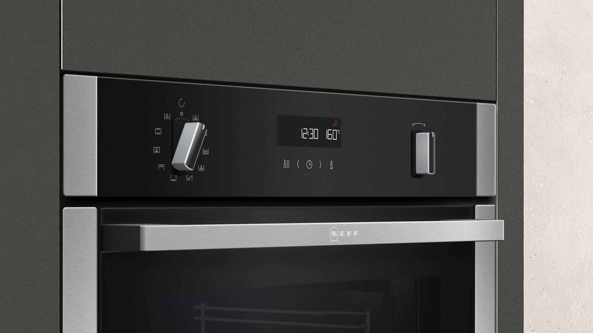 Neff Double Oven With Slide And Hide Door Sliding Designs