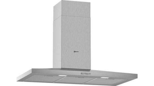 Neff D92QBC0N0B 90cm Slim Pyramid Chimney Hood Stainless Steel
