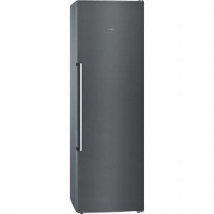 Siemens GS36NAX3P iQ500 No Frost Black Steel Freezer