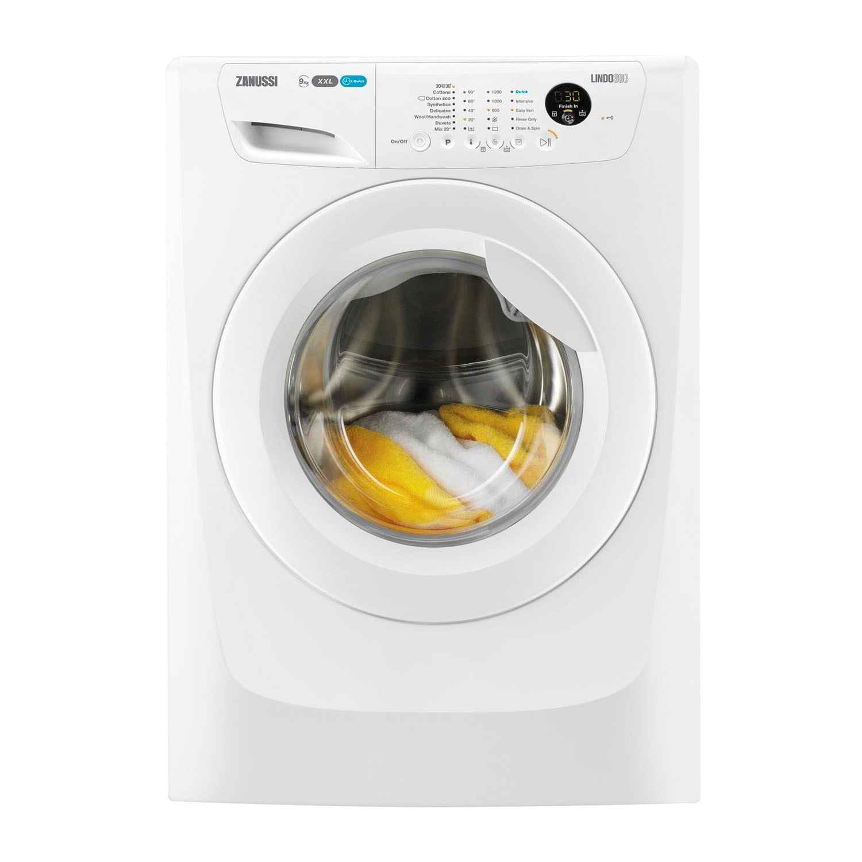 Zanussi ZWF91283W LINDO300 9kg 1200 Spin Washing Machine ...
