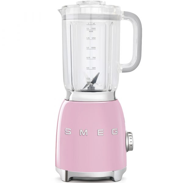 Smeg BLF01PKUK Pink 50s Style Blender