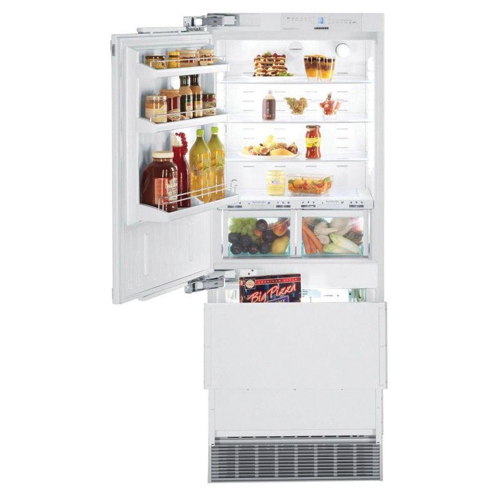 Liebherr Ecbn5066 617 Fully Integrated Over Under Fridge Freezer Lh
