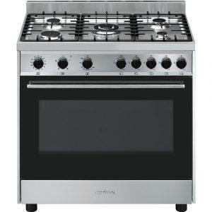 Smeg B90GVXI9 90cm Gas Range Cooker