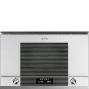 Smeg MP122B1 Linea Microwave Oven Linea Aesthetic