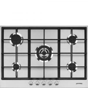 Smeg PX175 73cm Linea Gas hob, Stainless Steel