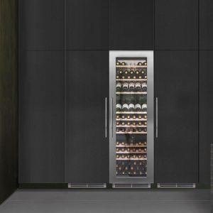 Caple WC1791 CLASSIC In-Column Triple Zone Wine Cabinet