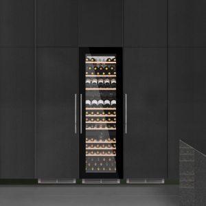 Caple WC1795 SENSE In-Column Triple Zone Wine Cabinet