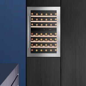 Caple WC6510 CLASSIC In-Column Dual Zone Wine Cabinet