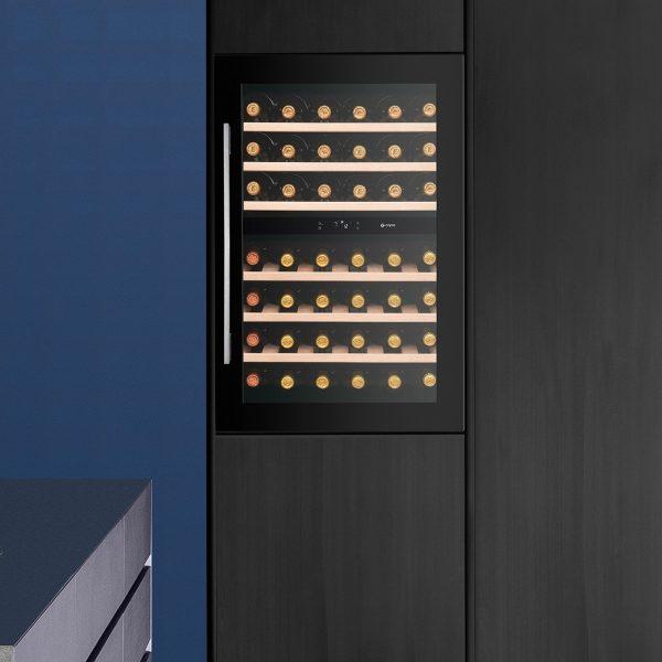 Caple WC6520 SENSE In-Column Dual Zone Wine Cabinet