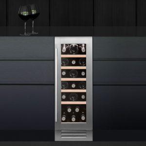 Caple Wi3123 CLASSIC Undercounter Single Zone Wine Cabinet