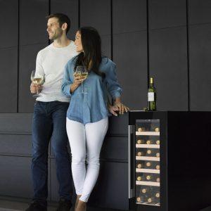 Caple Wi3124 SENSE Undercounter Single Zone Wine Cabinet