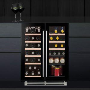 Caple Wi6233 Undercounter Dual Zone Wine Cabinet