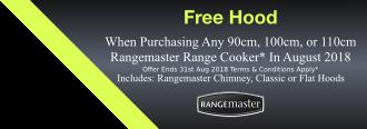 Rangemaster Free Hood Promotion