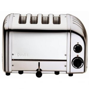 Dualit 40378 4 slot Polished Stainless Steel toaster