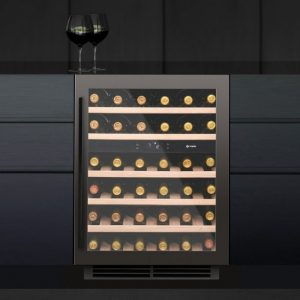 Caple Wi6133GM SENSE Undercounter Dual Zone Wine Cabinet