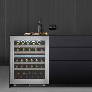 Caple Wi6150 Undercounter Dual Zone Wine Cabinet