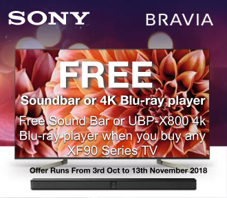xf90 sony bravia promotion