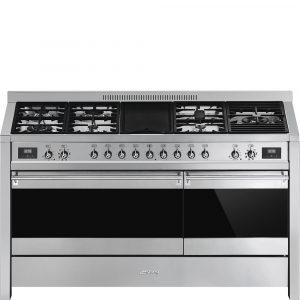 Smeg A5-81 150cm Opera Dual Fuel Dual Cavity Cooker