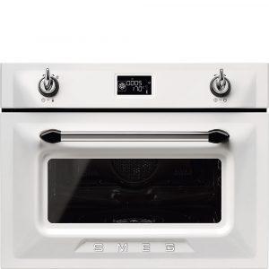 Smeg SF4920VCB1 Victoria Compact Combination Steam Oven