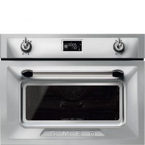 Smeg SF4920VCX1 Victoria Compact Combination Steam Oven