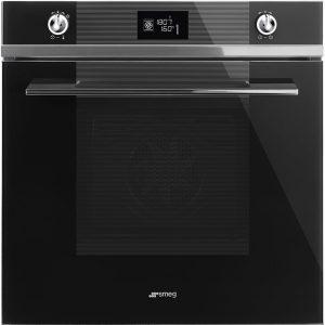 Smeg SF6102TVNG 60cm Linea Aesthetic Black Oven