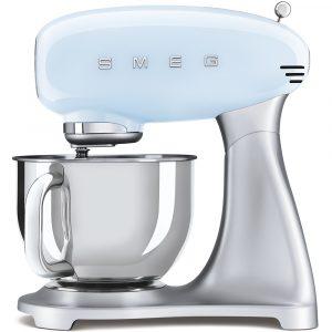 Smeg SMF02PBUK 50s Style Pastel Blue Stand Mixer