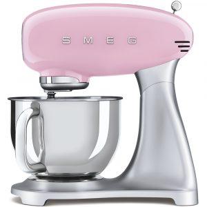 Smeg SMF02PKUK 50s Style Pink Stand Mixer