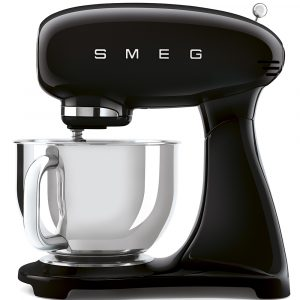 Smeg SMF03BLUK 50s Style Full Colour Black Stand Mixer