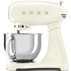 Smeg SMF03CRUK 50s Style Full Colour Cream Stand Mixer