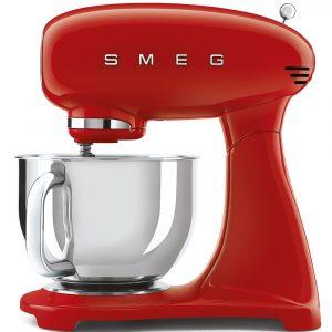 Smeg SMF03RDUK 50s Style Full Colour Red Stand Mixer