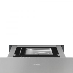 Smeg CPV315X 15cm Height Classic Vacuum Drawer, Stainless Steel