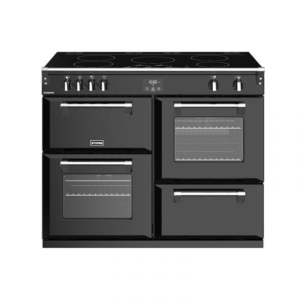 Stoves Richmond S1100EI 444444475 110cm Black Induction Range Cooker
