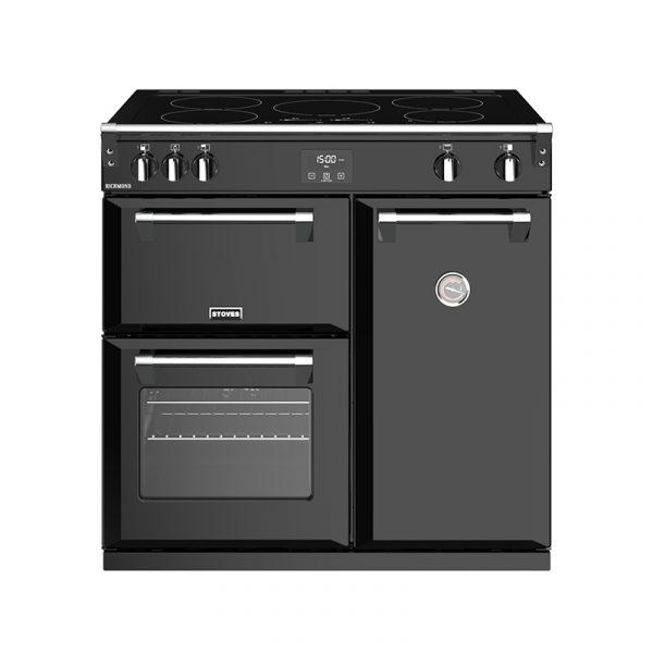 Stoves Richmond S900EI 444444445 90cm Black Induction Range Cooker