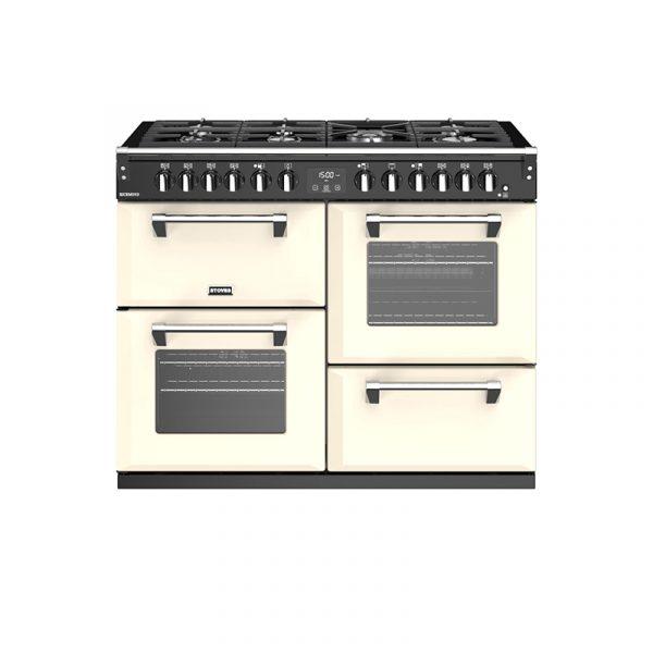 Stoves Richmond S1100DF 444444467 110cm Classic Cream Dual Fuel Range Cooker