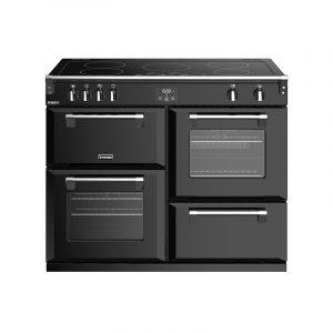 Stoves Richmond Deluxe S1100EI 444444925 110cm Black Induction Range Cooker