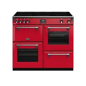 Stoves Richmond Deluxe S1000EI 444410308 100cm Hot Jalapeno Induction Range Cooker