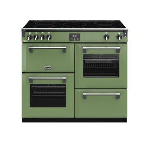 Stoves Richmond Deluxe S1000EI 444410312 100cm Soho Green Induction Range Cooker