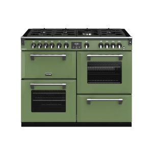 Stoves Richmond Deluxe S1100G 444410333 110cm Soho Green Gas Range Cooker