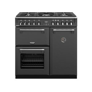 Stoves Richmond Deluxe S900DF 444410264 90cm Anthracite Dual Fuel Range Cooker