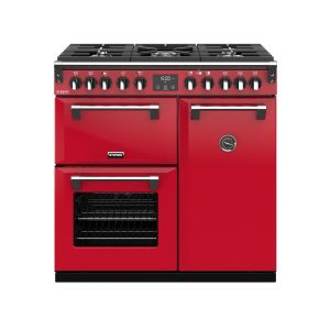 Stoves Richmond Deluxe S900DF 444410259 90cm Hot Jalapeno Dual Fuel Range Cooker