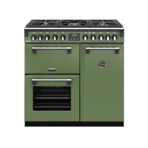 Stoves Richmond Deluxe S900DF 444410263 90cm Soho Green Dual Fuel Range Cooker