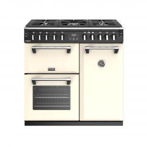 Stoves Richmond Deluxe S900DF 444444898 90cm Classic Cream Dual Fuel Range Cooker